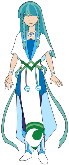 Hikaru Character Design Art