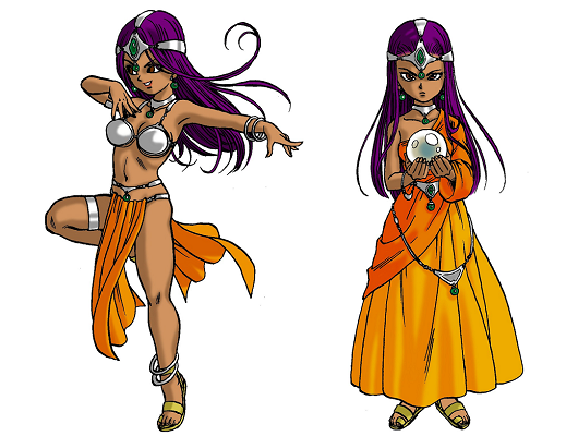Dragon Quest IV - Mara and Nara