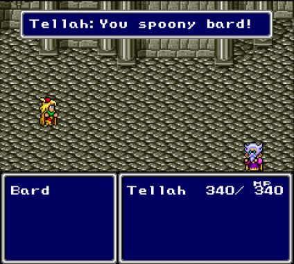 Final Fantasy IV - You Spoony Bard