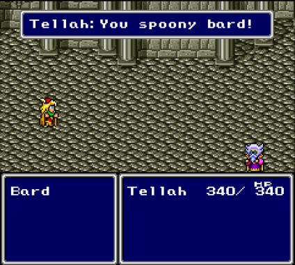 Final Fantasy IV - You Spoony Bard