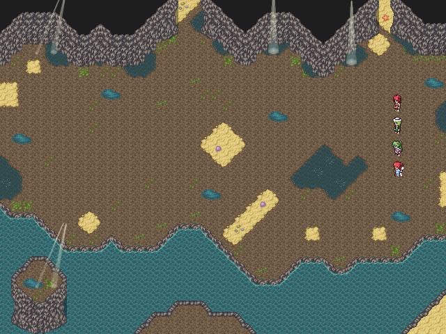 Dreamblazers - Cave Battle Mockup