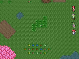 Dreamblazers - Forest Battle Mockup GBA Resolution