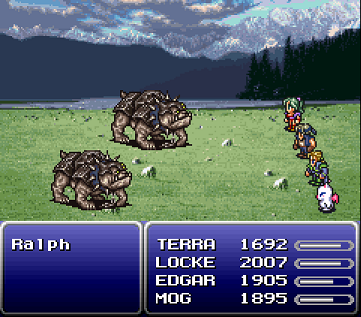 Final Fantasy VI - Battle