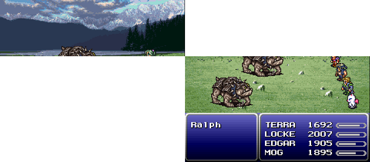 Final Fantasy VI - Perspective