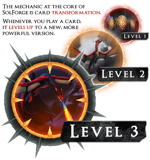 SolForge - Card Transformation