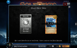 SolForge - Daily First Win