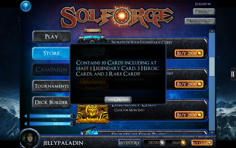 SolForge - Legendary Chest