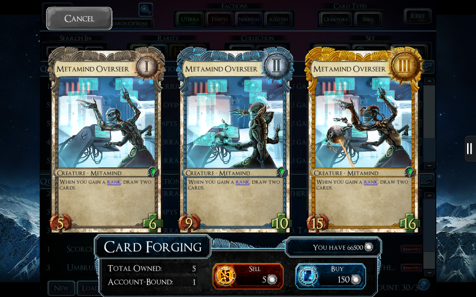 SolForge - Metamind Overseer