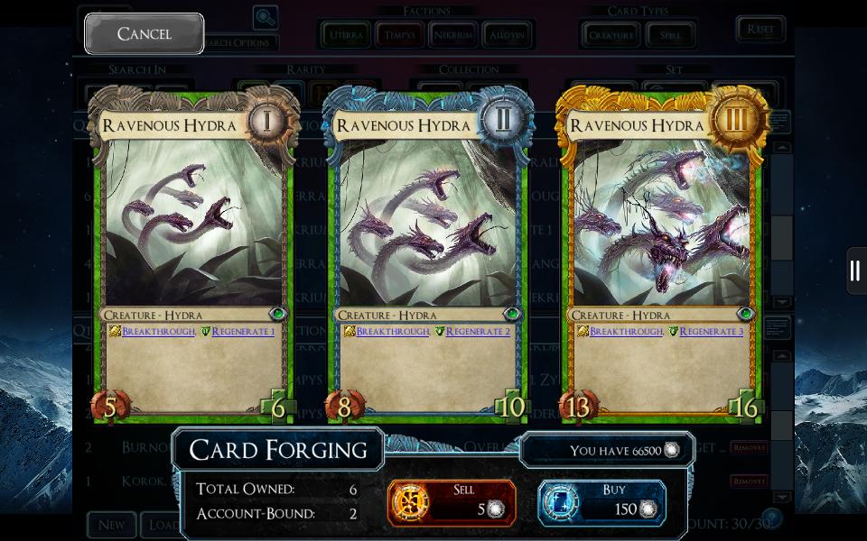 SolForge - Ravenous Hydra